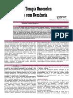 Artigo Cientifico Demencia - Snoezelen