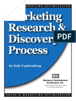 Marketing Research n Discovery Process