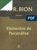 Elementos de Psicanálise - W. R. Bion.pdf