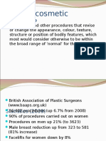 Cosmetic Surgery Slides Ppts