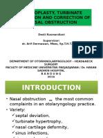 Septoplasty Desti LR