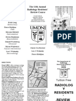 Free UMDNJ Radiology Board Review