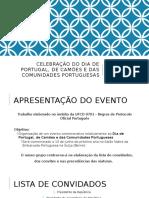 Celebração Do Dia de Portugal, De Camões