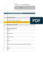 Cost Forecasting Format