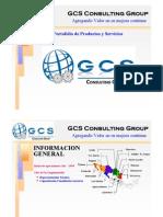 Port a Folio de Servicios GCS Consulting Group Division Tercerias REV-1-10