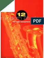 James Rae - 12 Modern Etudes for Saxophone.pdf