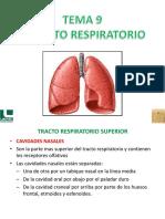 Tema 9-Aparato Respiratorio