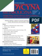 Medycyna Metaboliczna - 2016, tom XX, nr 4