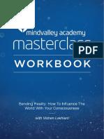 Bending Reality Masterclass Workbook