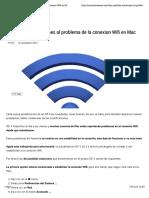 Dos Posibles Soluciones Al Problema de La Conexion Wifi en Mac Con OS X Yosemite