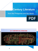 Intro to 21st Century Literature