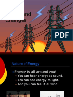 energy forms and changes ppt