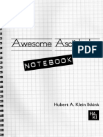 Awesome Ascii Doctor Notebook