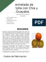Mermelada de Naranjilla Con Chia y Guayaba