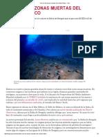 Así Son Las Zonas Muertas Del Océano Índico - Quo