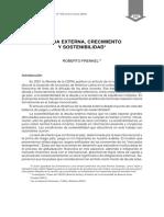 Frenkel Deuda y Sostenibilidad