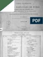 Curso Elemental Armas Portátiles de Fuego (Génova e Iturbe 1889)