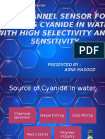 2_(Asna Masood)_A simple dual channel sensor for detecting cyanide in water with high selectivity and sensitivity