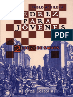 Aguilera Pablo - Ajedrez Para Jovenes-2, Juego de Sabios, 2001-OCR, 146p
