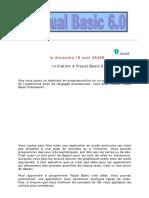 Formation Gratuite en Visual Basic 6.0