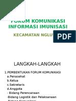 Forum Komunikasi Informasi Imunisasi