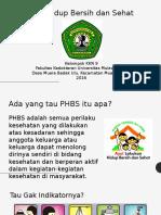 Phbs Mts Nurul Jadid Mbu