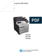 Manual Hp Color Laserjet Pro Mfp m476dn