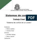 Sistema de control lazo cerrado de un cooler