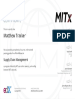 Example Certificate Micromasters