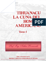Tiahuanaco - La Cuna Del Hombre Americano Tomo I