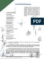 Acta Negociacion Del Convenio 4-11-2016
