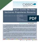 Informe Costo de Vida en barrios de Rosario - Noviembre 2016