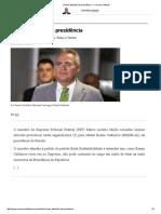 Renan Afastado Da Presidência — Conversa Afiada
