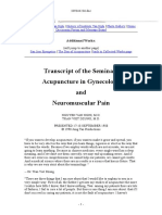 Acupuncture in Gynae