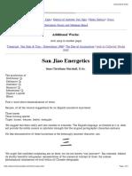 San Jiao Energetics