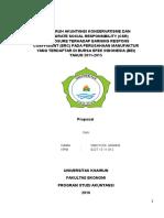 Pengaruh Akuntansi Konservatisme Dan Corporate Social Responsibility