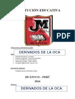 Fencyt 2016 - Derivados de La Oca