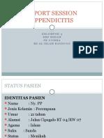 CRS Appendisitis
