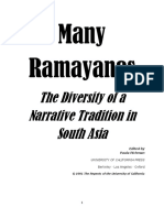 Many Ramayanas