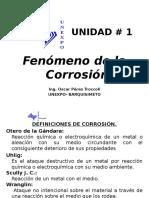 UNIDAD I Fenómeno de La Corrosión