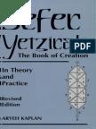 Sefer Yetzirah - The Book of Creation (Kaplan Edition)