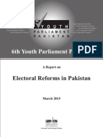 Electoral Reforms in Pakistan
