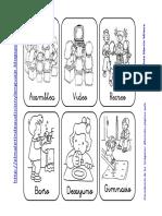 Carteles Rutinas y Rincones Infantil, Pt y Al