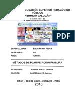 METODOS DE PLANIFICACIÓN