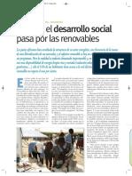 Cuando el desarrollo social pasa por las renovables (Energías Renovables, marzo-11, Tanzania)