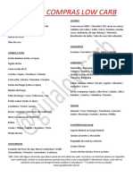 Microsoft Word - Lista de Compras Lowcarb