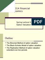 EC3314 Spring Lecture 9