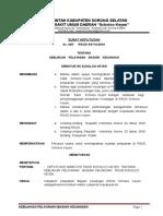 47 2013 SK Kebijakan Pelayanan Bagian Keuangan