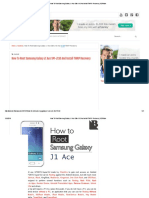How to Root Samsung Galaxy J1 Ace SM-J110 and Install TWRP Recovery _ BERItahu