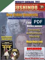 Bushindo Catalog 2017
